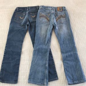 HP🎉/2 for $13 beautiful girl jeans